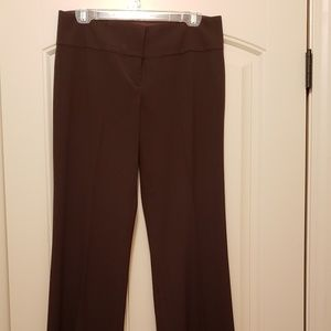 Brown dress slacks